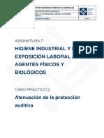 Asignatura 7. CP2 Atenuación de La Protección Auditiva