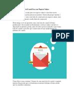 Como Criar Lista de E-mail Para Seu Negócio Online
