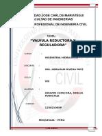 Valvula Reductora y Reguladora