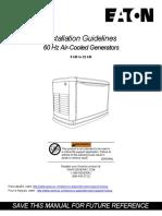 Eaton Install Manual -0L6630Y10
