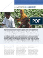 population and food security