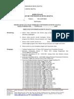 Contoh Surat Penetapan Rektor