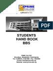 Handbook Bbs