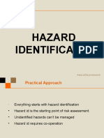 Hazard Identification Nov 2009