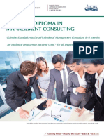 Executive Diploma in Management Consulting Discount