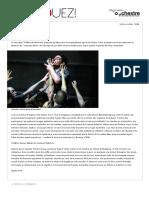 Un souffle grec - Théâtre _ Agenda - Journal La Terrasse
