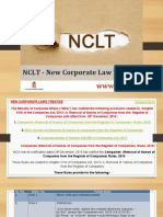 Removal of Names of Companies From the Register of Companies - NCLT