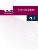 Inclusive Financial Services - Global Trends in Accessibility Requirements - G3ict Report