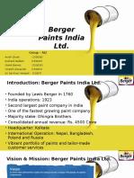 Group AI2_Berger Paints India Ltd.