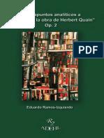Examen a La Obra de Herbert Quain-Estudio