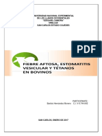 Aftosa, Estomatitis y Tétano (Bartolo Hernández-unellez) (Autoguardado)