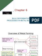 Bulk Deformation Process Rolling Ch6 1