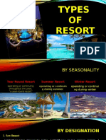 Types of Resort