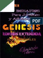 Desafios Para Jóvenes y Adolescentes Génesis Edición Extendida