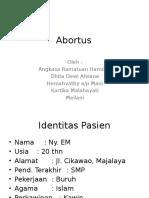 Abortus Case Report