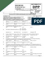 DPP 9 Maths English