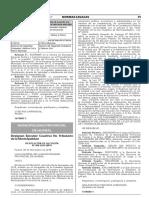 Designan Ejecutor Coactivo No Tributario de la Municipalidad