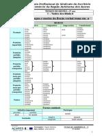 F.G.5 - O Verbo - Tabela