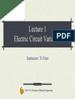 Lec01 Circuit Variables