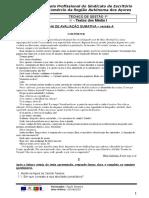 Ficha de Avaliação -I- Mód 3 - Versão A