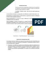 Microestructuras y Celdas Cristalinas