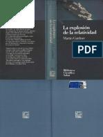 La Explosion de La Relatividad M Gardner Biblioteca Cientifica Salvat 051 1994 OCR
