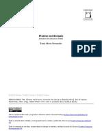 FERNANDES, Tania Maria. Plantas medicinais - memória da ciência no Brasil.pdf