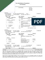 Tim Hendricks of Harleysville 2000 DUI Court Summary Report