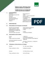 Informe de Invetigación de Accidentes Achs