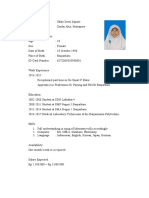 Resume of Okky