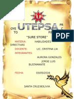 Proyecto Final Habilidades Directivas- Sure Store