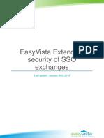 EASYVISTA Extending SSO Security Exchanges With EasyVista