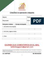 Checklist Boggioni