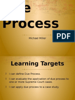 due process presentation
