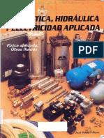 Manual Neumatica Hidraulica y Electricidad aplicada Fisica Fluidos Automatismos Electricos Esquemas Simbolos.pdf