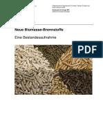 BFE Bericht Neue Biomasse Brennstoffe