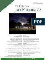 Revista Chilena Neuro Psiquiatria v50 n1 Enero Marzo 2012