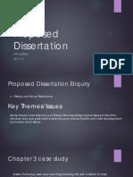 Proposed Dissertation