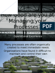 BPM Maturity Review Proposition v8