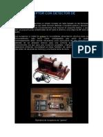 Radiorreceptor Con Detector de Germanio