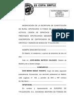 Ttulización Rural Hipotecario XI FTA