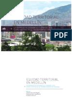 Libro Equidad Territorial en Medellin Final