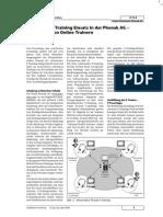 Stoller-Schai 2004 - Synchroner E-Training Einsatz in der Phonak AG - Ausbildung von Online Trainern