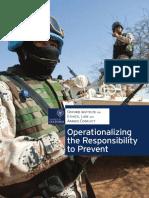 ELAC - Responsibility to Prevent