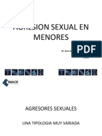 Agresion Sexual en Menores y Agresores Occidente