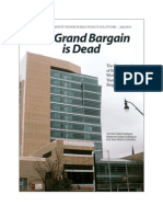 The Grand Bargain is Dead(1)