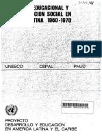 CEPAL-Expansion Educ y Estrat Social ALC 1960-1970