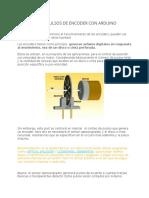 Contador de Pulsos de Encoder Con Arduino