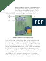 Lab Report Heat Capcity Procedure Draft