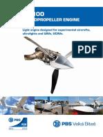TP 100 Turbopropeller Engine